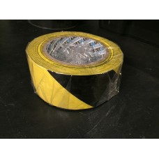 Deemark Hazard Tape Black/Yellow 50mm x 30m