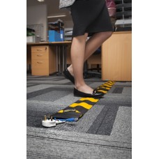 Dirty Rigger Carpet Crawler Cable Cover - Black
