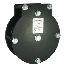 Doughty 100mm Heavy Duty Pulley (Double Sheave) (Rope)