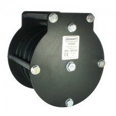 Doughty 100mm Heavy Duty Pulley (Quin Sheave) (Wire Rope)