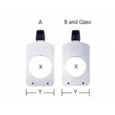 ETC S4 Size B Glass Gobo Holder
