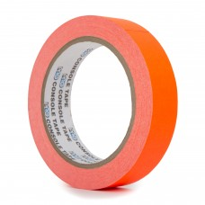 Le Mark Fluorescent Console Tape - 24mm x 25m - Orange