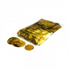 Magic FX Slowfall Confetti Rounds Dia 55mm - Gold