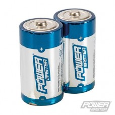 Power Master C-Type Super Alkaline Battery LR14 2pk