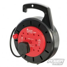 Power Master Cassette Cable Reel 240V 4 Socket
