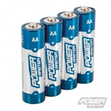 Power Master AA Super Alkaline Battery LR6 4pk