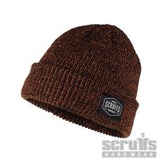 Scruffs Vintage Beanie Hat - Orange/Black