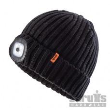 Scruffs LED Knitted Beanie - Black