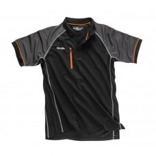 Scruffs Trade Active Polo Black