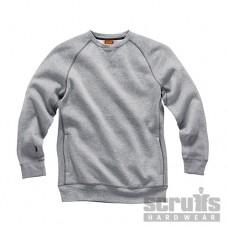 Scruffs Sweatshirt Grey Marl