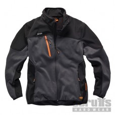 Scruffs Trade Tech Softshell Jacket Charcoal