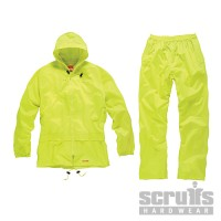 Scruffs 2-Piece Waterproof Suit Yellow