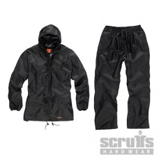 Scruffs 2-Piece Waterproof Suit Black