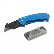 Silverline Folding Utility Knife - 373728