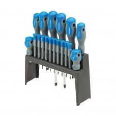 Silverline Soft-Grip Screwdriver Set 18pce 633940